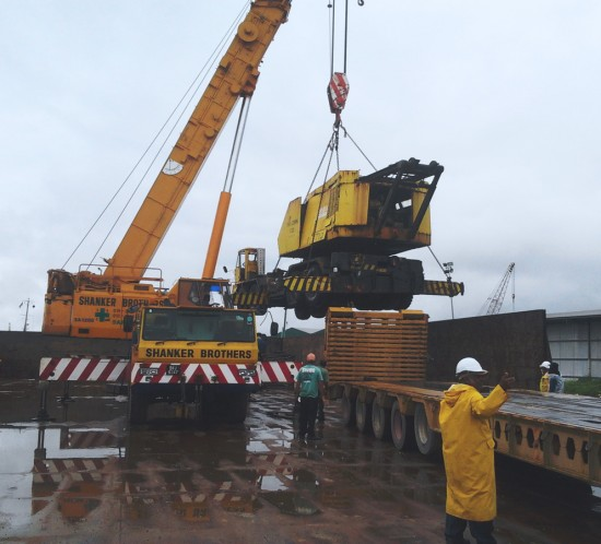 Loading-of-Crane-at-Barge